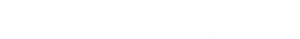 Nouveau Contour Logo Wit